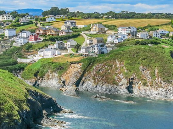 Ortiguera, the Asturian village with 1,000 inhabitants but two lighthouses