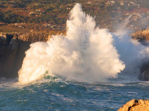 Bufones de Pría, Arenillas and Santiuste blowholes, the spectacular marine 'geysers' of Asturias
