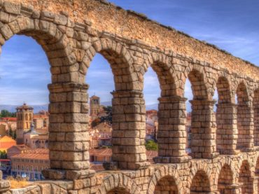 The aqueduct of Segovia | 7 Wonders of Ancient Spain