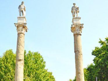 Alameda de Hércules in Seville, Spain's oldest public promenade