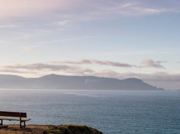 The best bench in the world and its view of infinity