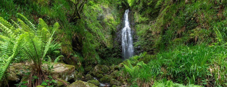 Belaustequi waterfall