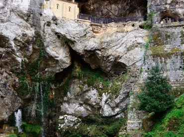 The power of the Marriage Fountain in Covadonga