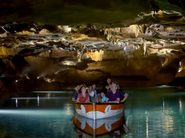 Cave of Sant Josep, the longest navigable underground river in Europe