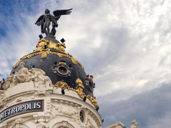 The statues that watch over Madrid from the heights