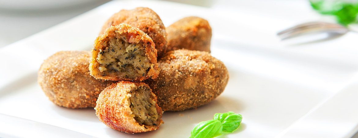 HEALTHY CROQUETTES
