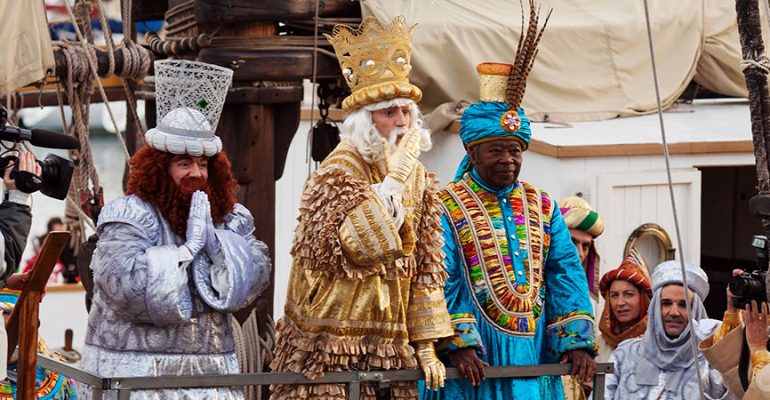 The most spectacular Cabalgatas or Three Kings' Parade in Spain