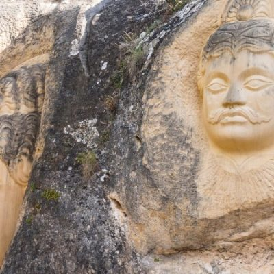 Route of the Faces: an open-air museum