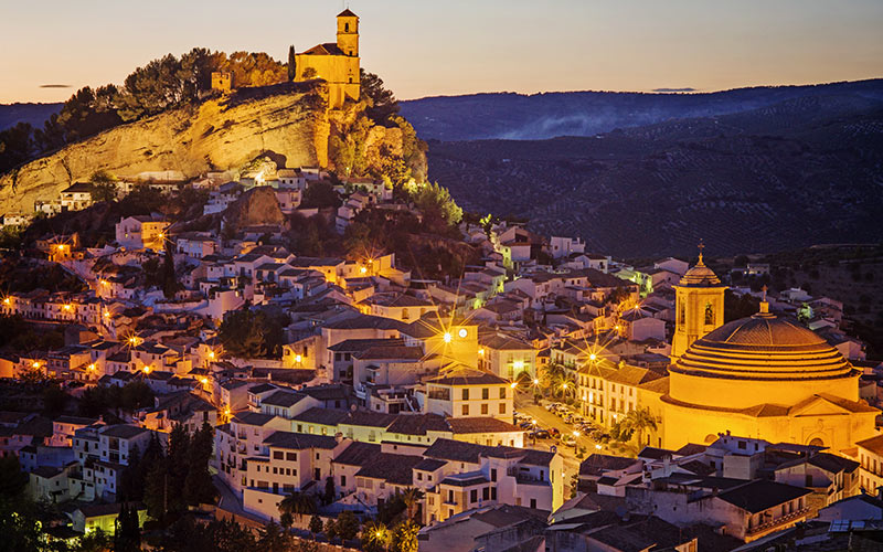 Fairy-Tale Spanish Towns to Visit at Christmas: Montefrío