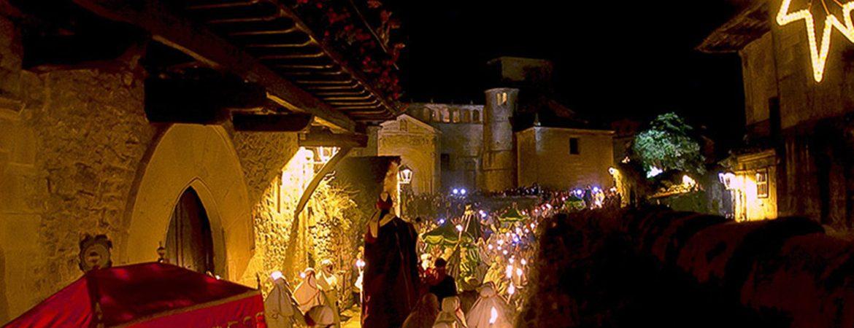 nativity scene Santillana del Mar