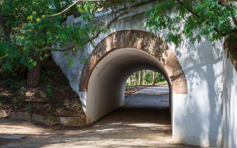 Tunnel of the Quinta de los Molinos