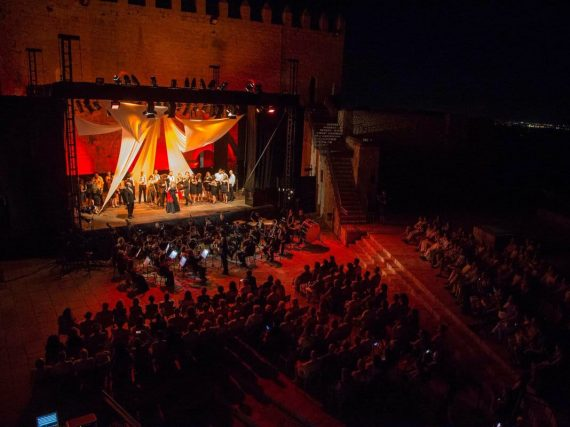Peñíscola and the Classical Theatre Festival