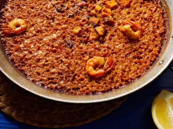 Spanish 'Arroz a Banda' Recipe