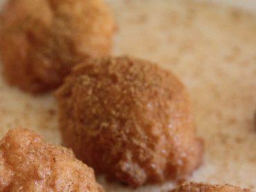 Sweet repápalos, a singular dessert from Extremadura