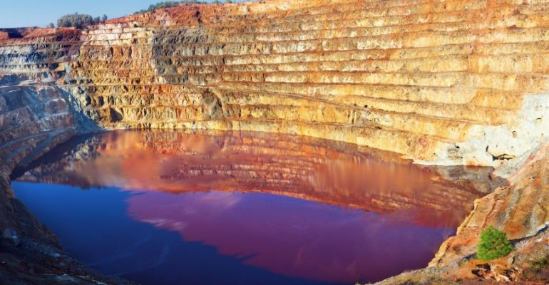 The Riotinto Mines, 2000 years of mining in a Martian environment