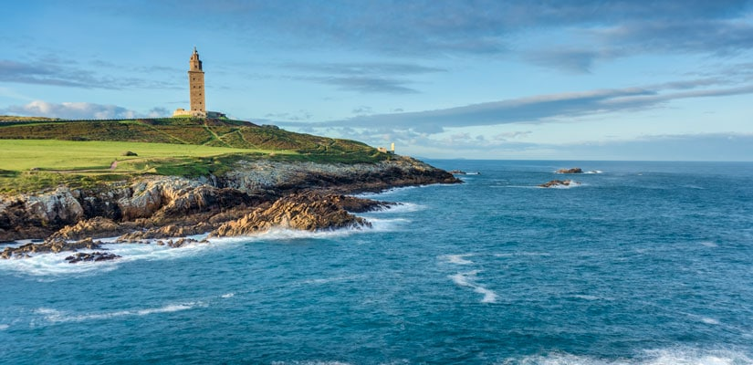 road trip along the coast of Galicia