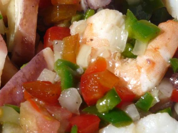 Spanish Seafood Salad