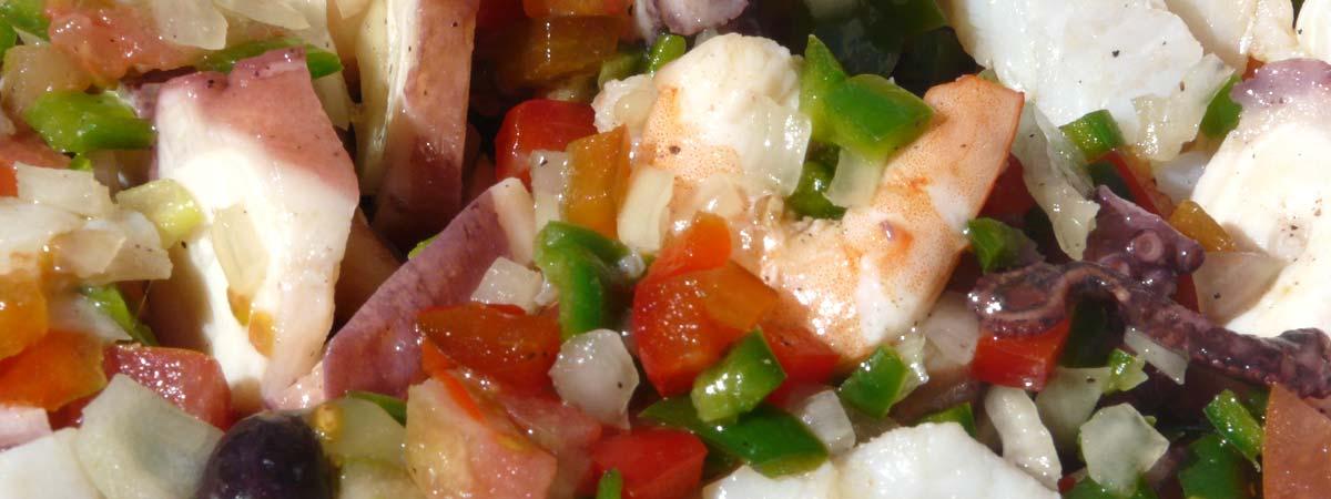 Spanish seafood salad