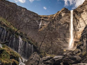 Salto del Nervión, the tallest waterfall in Spain that only flows for a few months