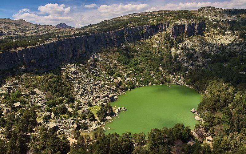 Natural Park and the Black Lagoon
