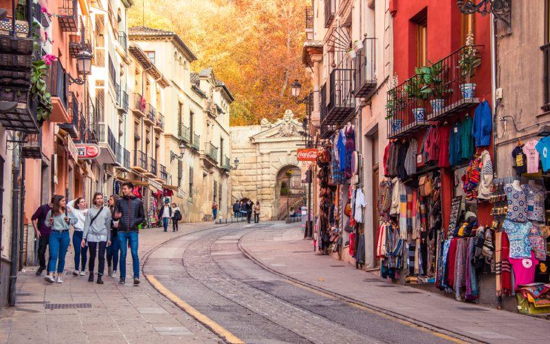 Cuesta de Gomérez, Granada