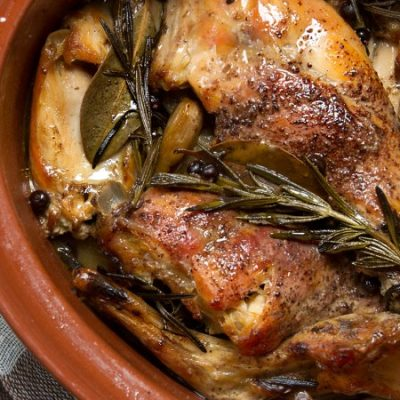 Conejo al Ajillo: Spanish Rabbit with Garlic Recipe