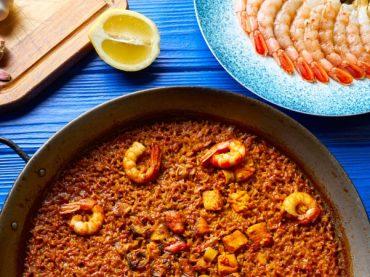 Paella del Señorito or Arroz del Senyoret Recipe, one of Alicante's traditional paellas