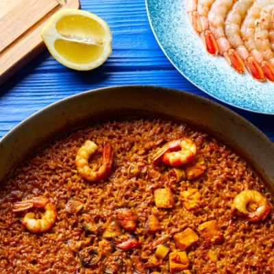 Paella del Señorito or Arroz del Senyoret Recipe, one of Alicante's traditional paellas
