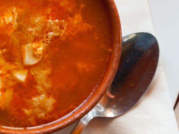 Garlic Soup or Castilian Soup Recipe, a humble but delicious dish