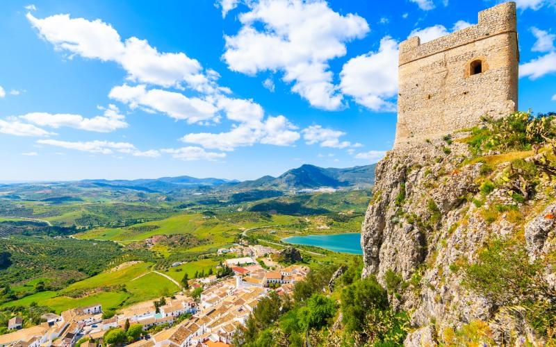 Zahara de la Sierra Castle