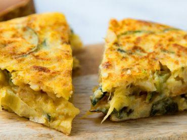 Spanish Courgette Tortilla Recipe: a healthy tapa
