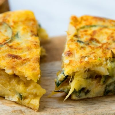 Spanish Courgette Tortilla Recipe: a healthy tapa