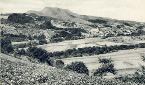 foto antigua Panorámica de Vera de Bidasoa