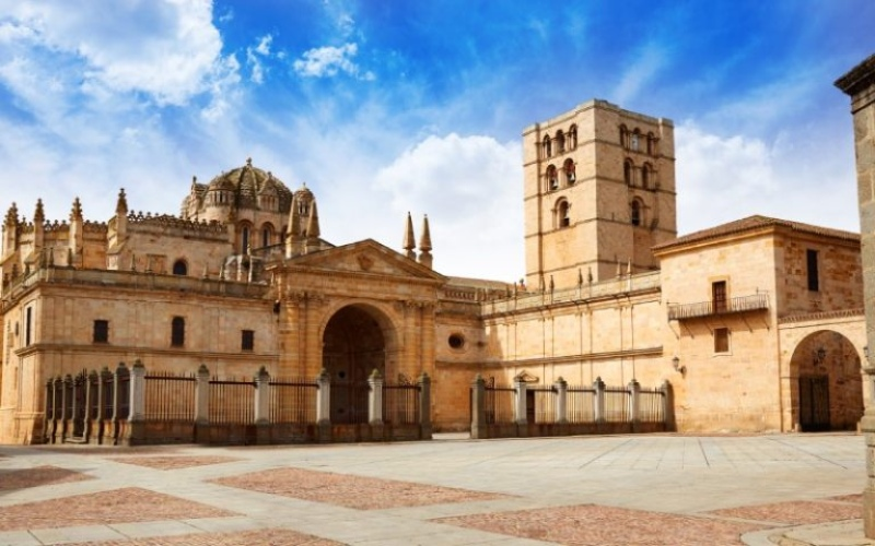 The cathedral of Zamora